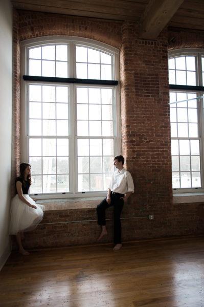 portland engagement ballerina