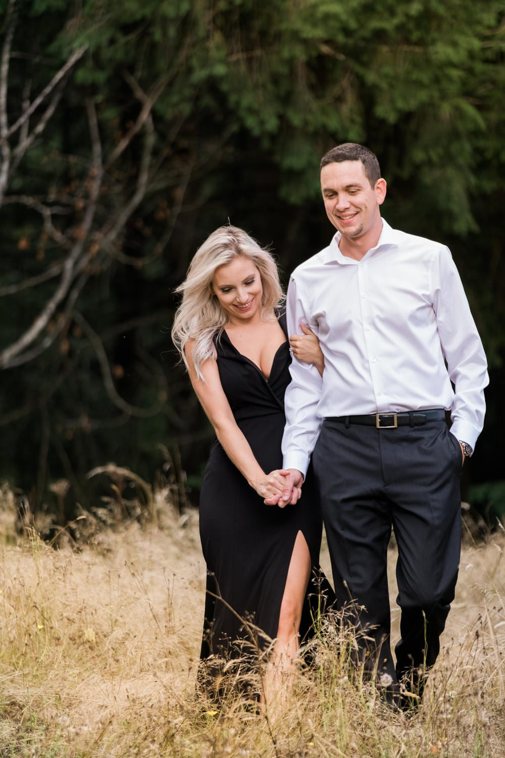 Lacamas Washington Engagement Session Britt and Brian