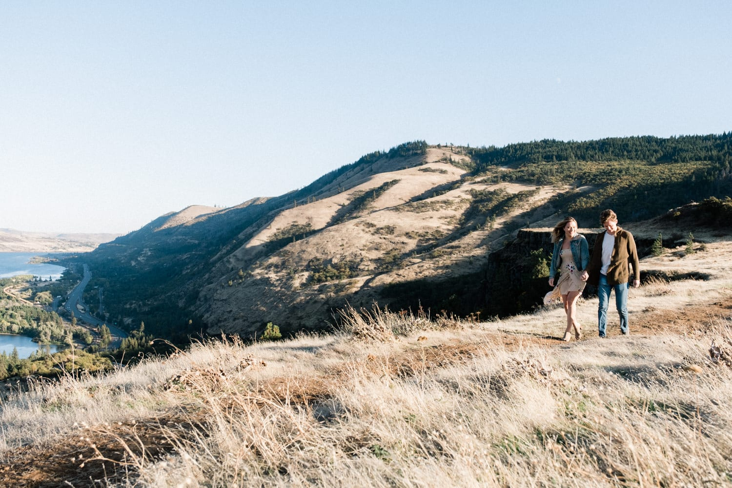 Columbia River Gorge, Engagement, Portland Wedding
