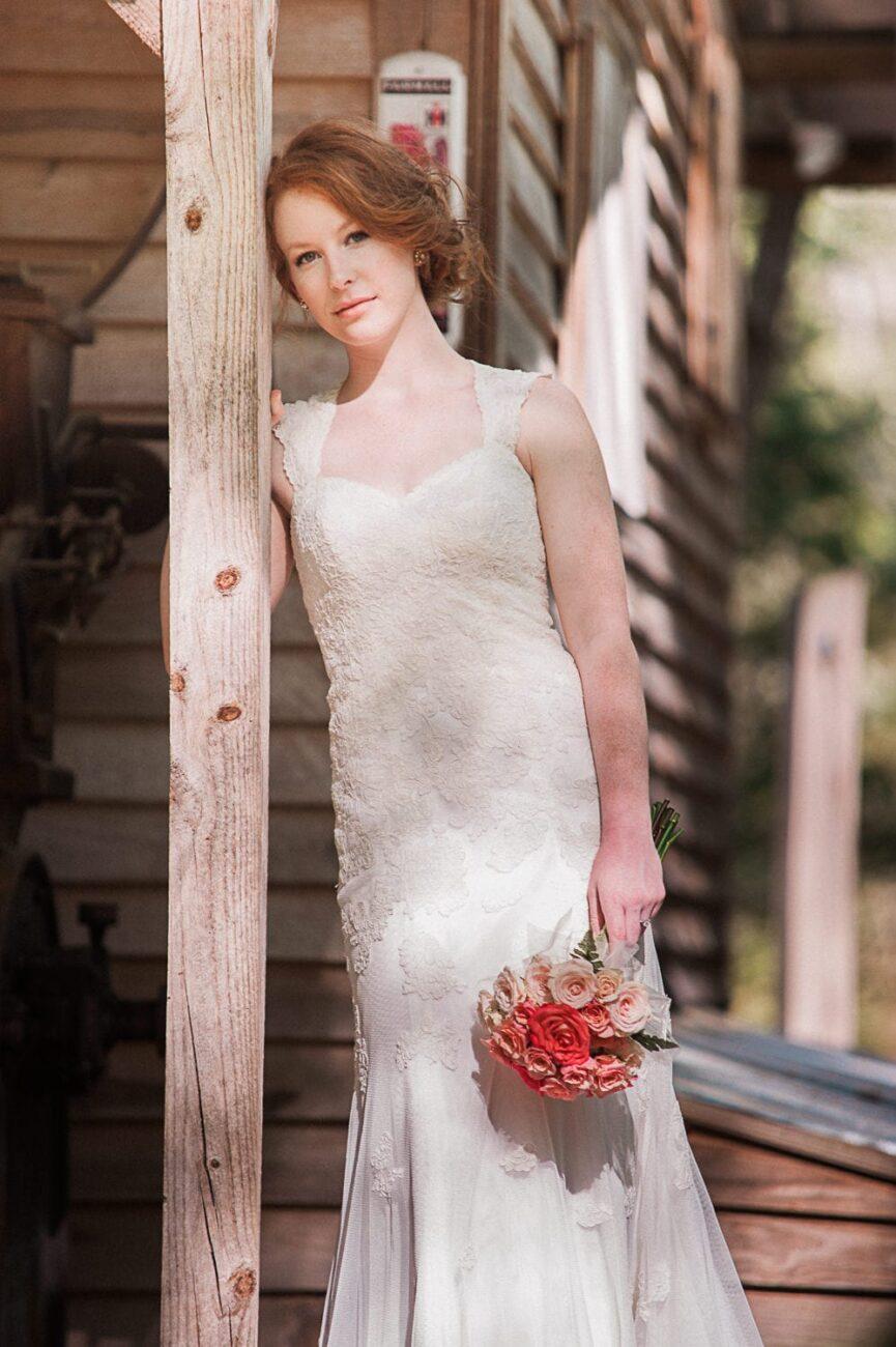 Portland-bridal-shoot-organic-vintage-redhead