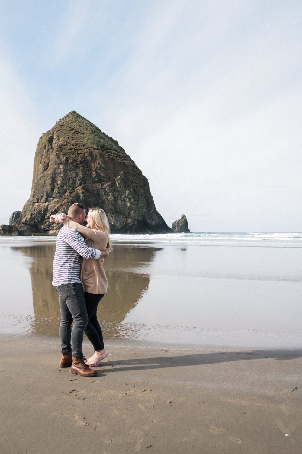 Couple Session Ecola State Park Cannon Beach