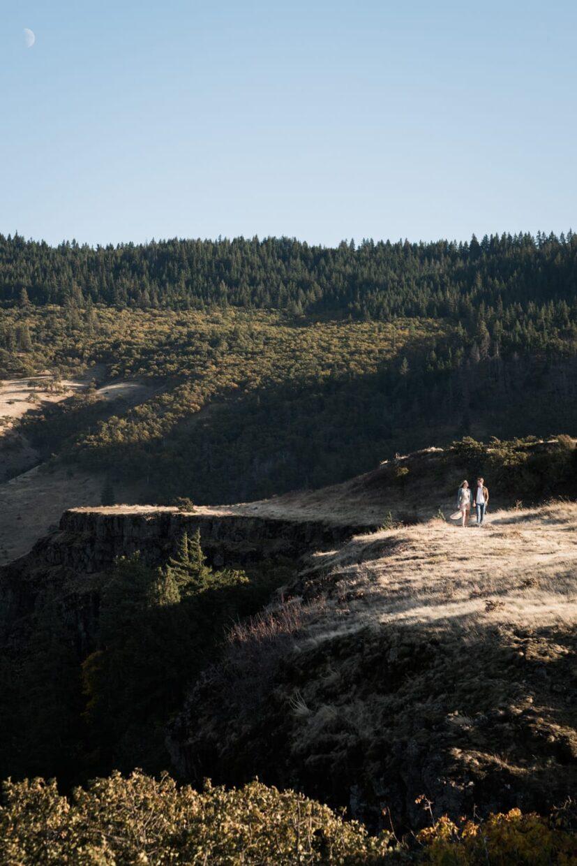 Columbia River Gorge, Engagement, Portland Wedding